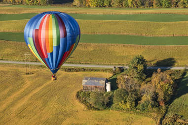 castile hot air balloons letchworth state park