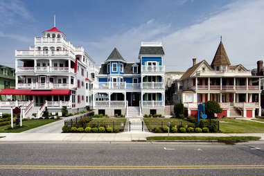 Victorian Houses in Cape May, New Jersey
