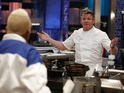 Gordon Ramsay bobby Flay Cook Off