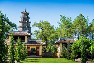 Thien Mu temple near Hue