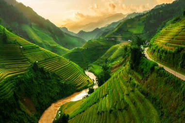 Mu Cang Chai, Sapa, Vietnam
