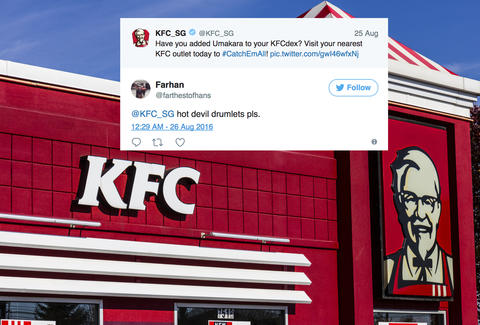 kfc fan tweets to get menu item reinstated