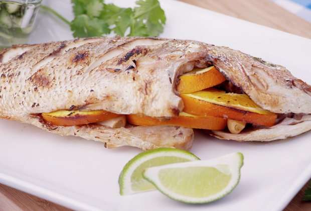 Get Grilling: Grilled Whole Fish