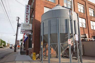 Outside of Appalachian Brewing Company