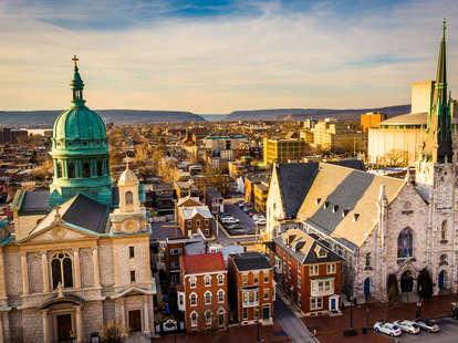 Downtown Harrisburg, Pennsylvania
