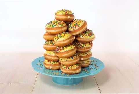 Krispy Kremes Birthday Cake Batter Donut Returns for Good Thrillist