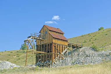 Mining Remains in Creede Coloroado