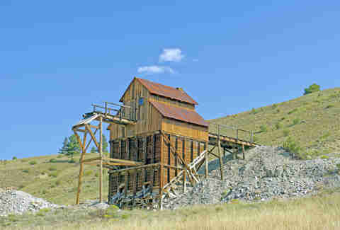Mining Remains in Creede Coloroado