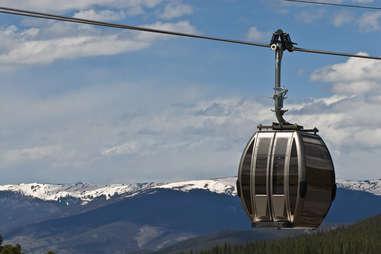 Ski Gondola in Breckenridge, Colorado