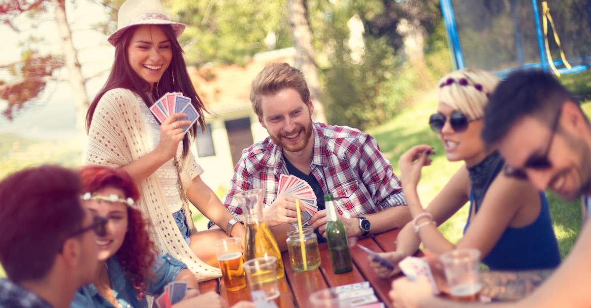 poker card drinking game