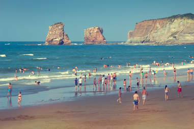 Hendaye Beach Hendaye, France