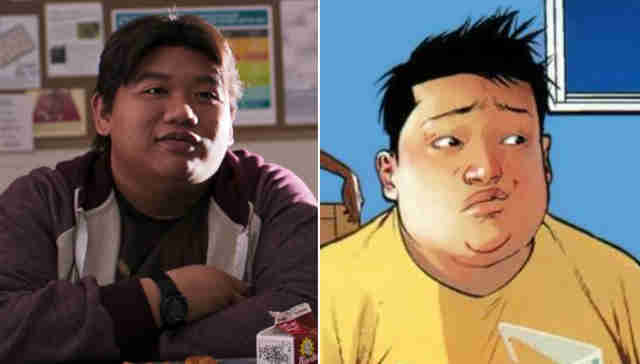 Ned Leeds in Spider-Man: Homecoming and Ganke from Ultimate Spider-Man