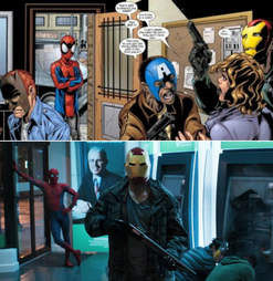 ultimate spider-man robbery