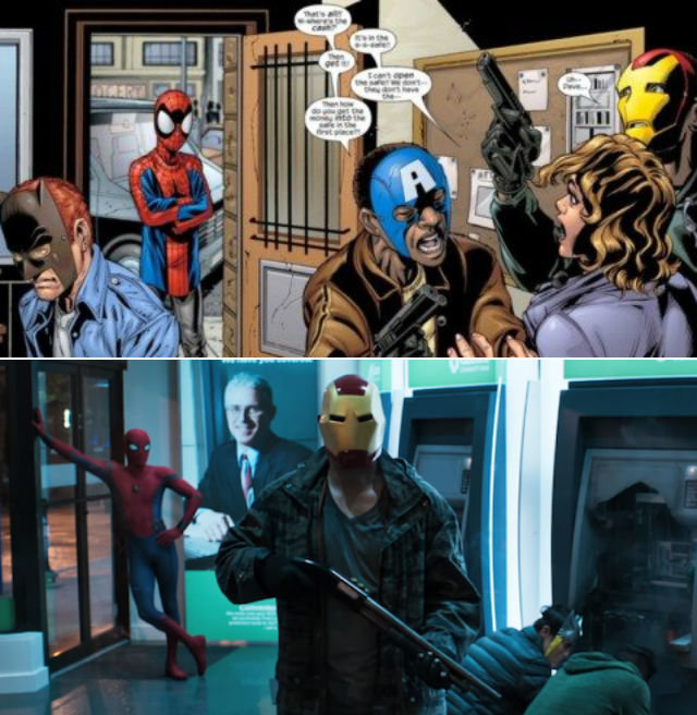 Spider-Man Homecoming Easter Eggs: Every Hidden Comic