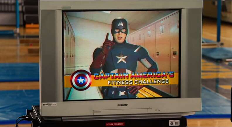 captain america in spider-man homecoming
