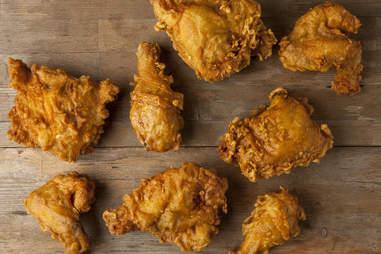 Crispy Golden Chicken from Honey's Kettle