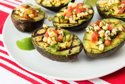 how to grill avocados