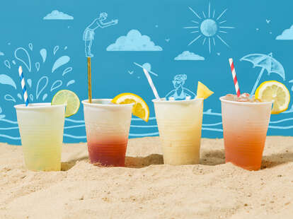 how to batch out cocktails for the beach summer weather