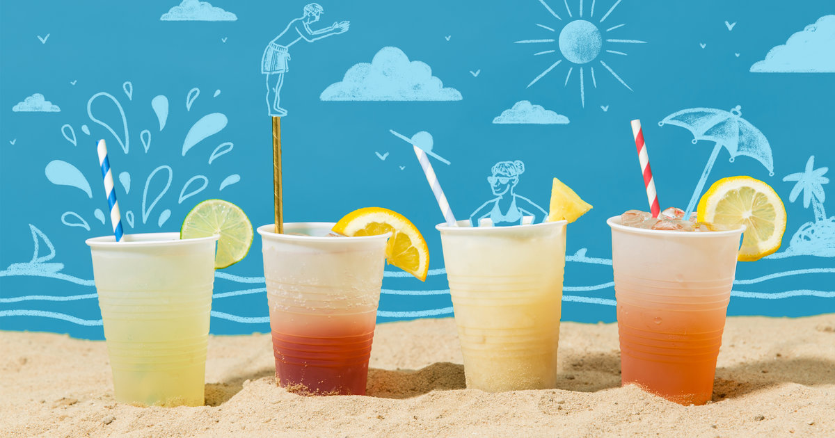 Beach Drinks Pre Batched Cocktail Recipes You Can Take To