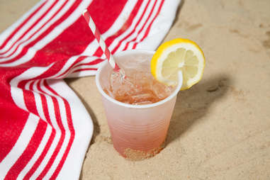 spiked lemonade recipe beach summer