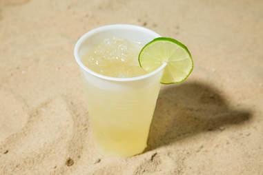 beach friendly margarita