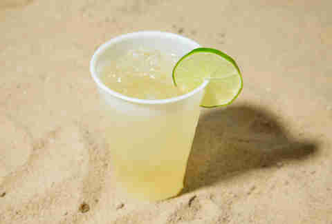beach friendly margarita
