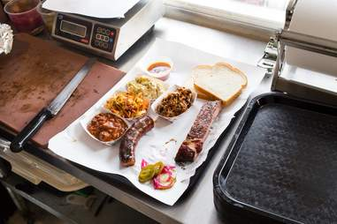 Smokehouse Tavern barbecue in Portland, Oregon