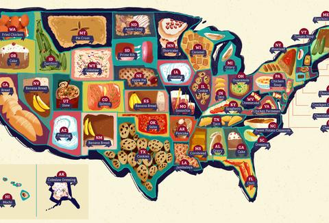 every state's favorite recipe
