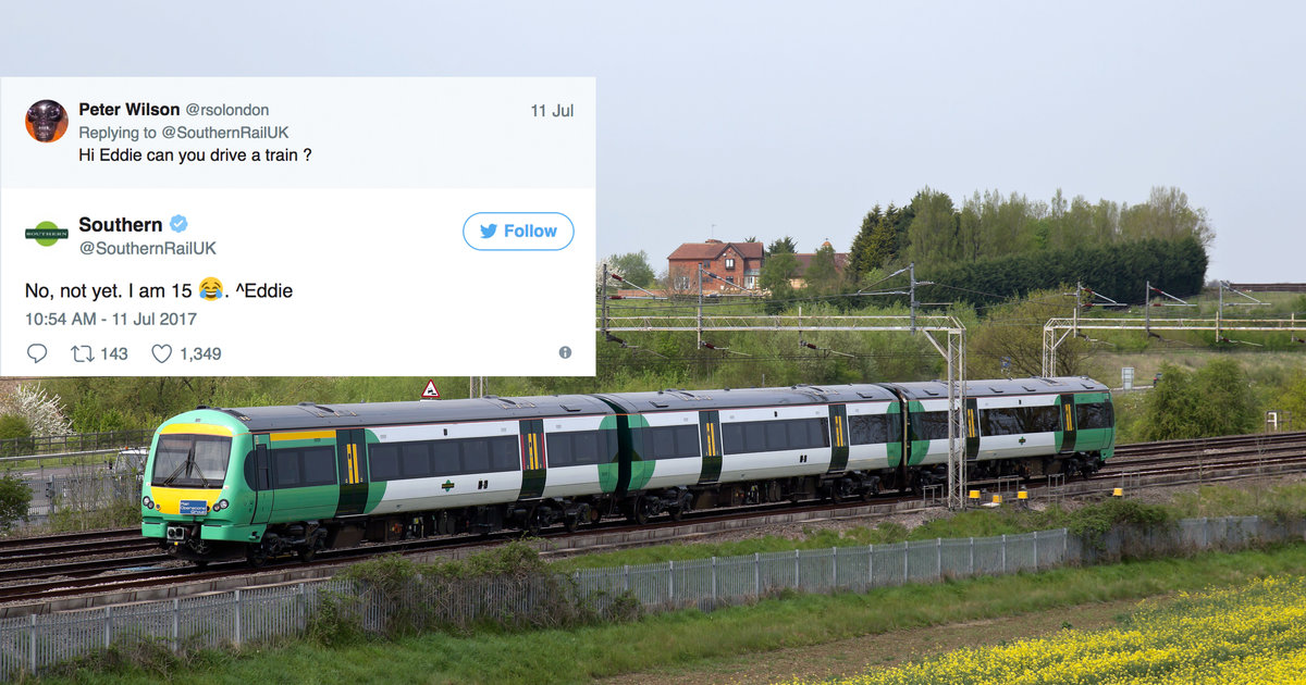 Railroad Lets 15-Year-Old Run Its Twiter Account, Things Quickly Get Out of Hand