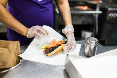 wiener's hot dog