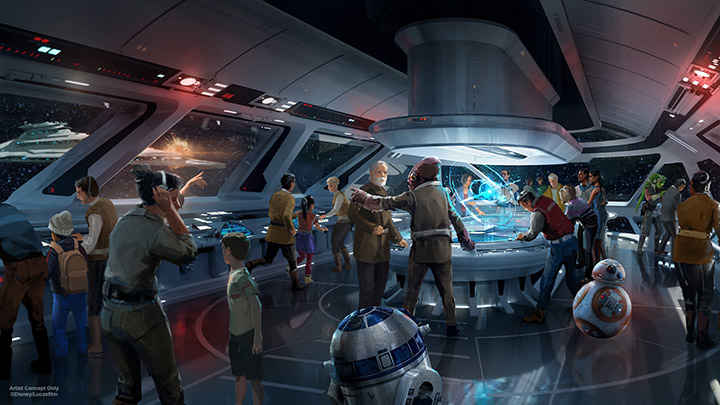 Disney's Totally Immersive 'Star Wars' Hotel Is Childhood Dreams Come True