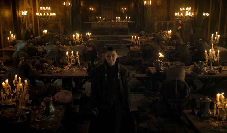 arya game of thrones season 7 premiere