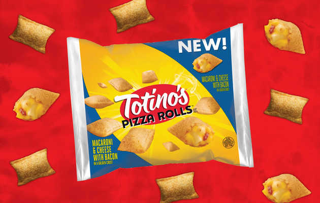 Totino's Newest Pizza Rolls Come Packed With Mac & Cheese and Bacon