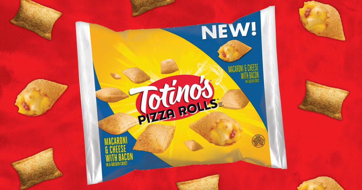 Totino's Releases New Mac and Cheese With Bacon Rolls ...
