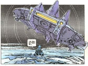 Valerian Spaceship
