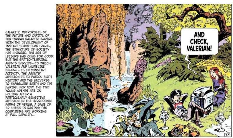 Valerian Comic