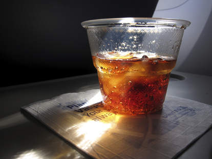 why it feels like booze hits  you harder when you fly