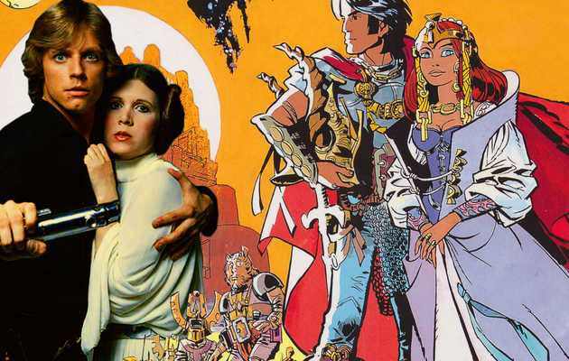 There Would Be No 'Star Wars' Without This Wild French Comic From the '60s