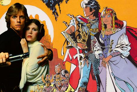 there would be no star wars without this wild french comic