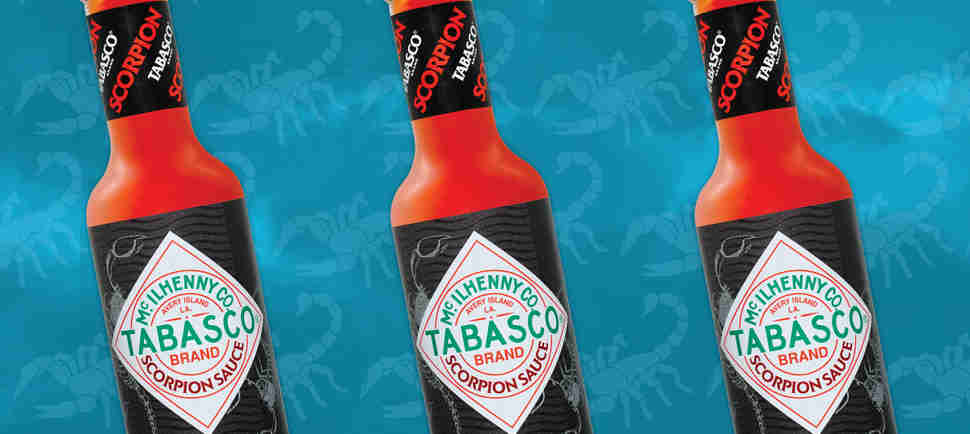 Tabasco's New Scorpion Hot Sauce Is Its Spiciest Ever