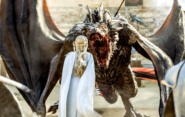 The Secrets Behind Bringing the 'Game of Thrones' Dragons to Life