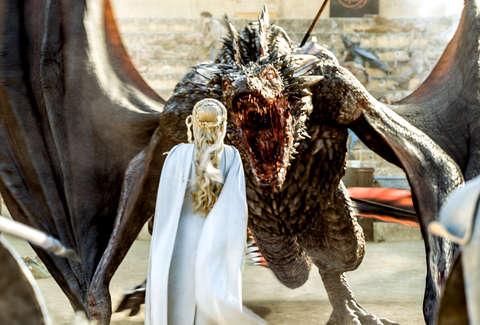 Game Of Thrones Dragons Special Effects Secrets Revealed