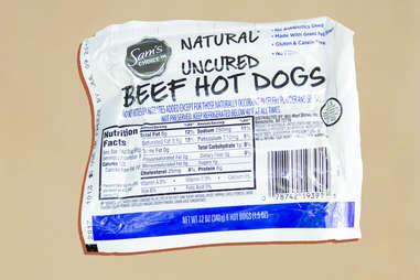 sam's choice hot dogs