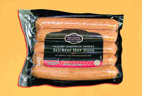 private selection hot dogs