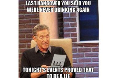 Funny Hangover Memes The Stages Of A Hangover Told In Memes