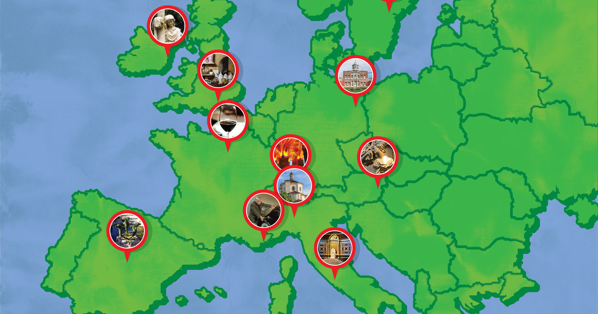 The Coolest Attractions in Europe That Not Enough People Visit