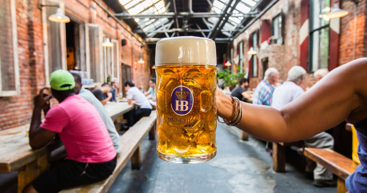 Best Beer Gardens In America German Beer Gardens Near Me Thrillist