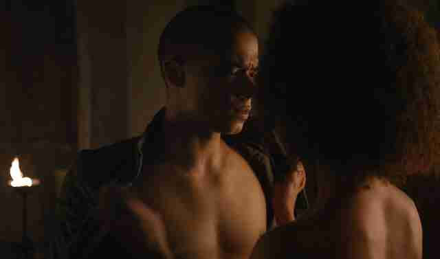 grey worm sex scene game of thrones
