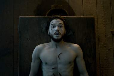 jon snow comes back to life game of thrones