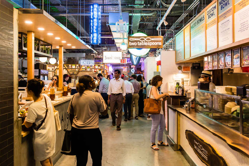 The Ultimate Guide to NYC's Food Halls